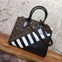 2017 louis vuitton imported leather city steamer mm m42526 HN02120