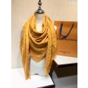 2017 top quality louis vuitton scarf A2851 yellow Scarf HN02161