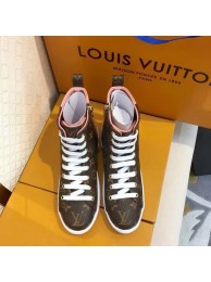 Fake 1:1 Louis Vuitton DIGITAL EXCLUSIVE HEART SNEAKER BOOT LV902SY pink HN02546