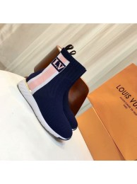 Fake Louis Vuitton AFTERGAME SNEAKER BOOT LV897SY blue HN00293